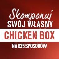 Stwórz swój własny zestaw z Chicken Box!  Od 2 października we wszystkich restauracjach McDonald's do każdego Chicken Boxu będzie można dokupić dodatki w promocyjnej cenie. Dodatkowo do każdego zakupu Chicken Boxu goście dostaną butelkę Lipton Ice Tea o smaku cytrynowym. Do oferty powracają również Frytki Zakręcone ;)