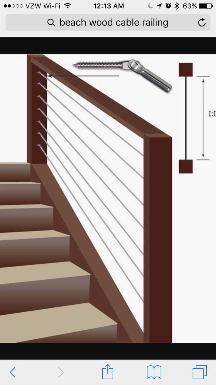 14 best cable railing images on Pinterest | Banisters, Stairs and ...