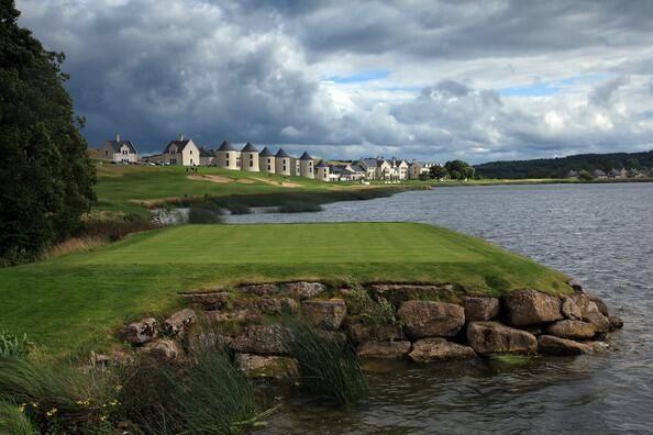 17th hole, Lough Erne Golf Resort, Northern Ireland