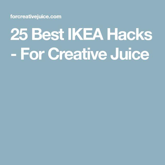 25 Best IKEA Hacks - For Creative Juice