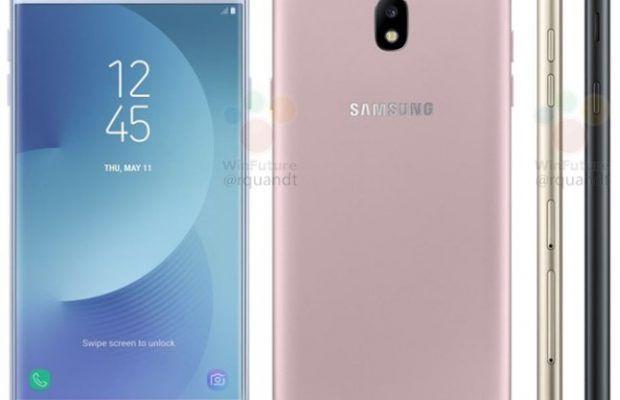 Galaxy J7 2017 apare in primele imagini. Estetica noua!