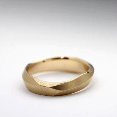 Carved series men's ring