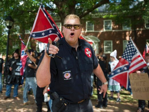 A Group of Armed Christian Terrorists Gathered Saturday in Charlottesville