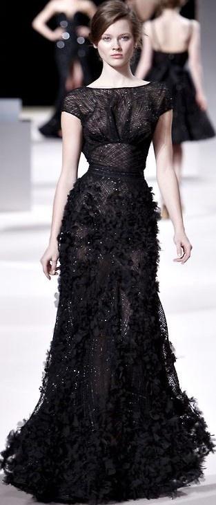 Elie Saab Keep The Glamour Bestaybeautiful Black Dress 2dayslook Ramirez701 Blackdress Www Formals Pinterest Dresses Fashion And