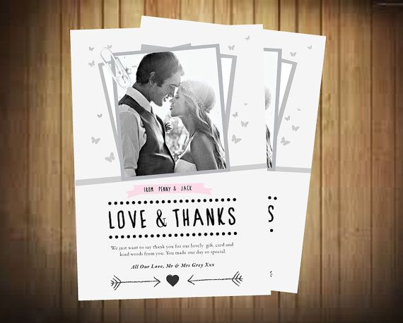 Best Wedding Thank You Notes Images On   Notes