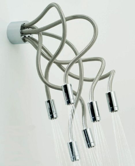 Medusa Snakes Shower Heads | Well Done Stuff !