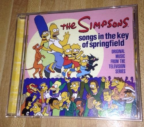 The Simpsons Songs in The Key of Springfield Music CD | eBay