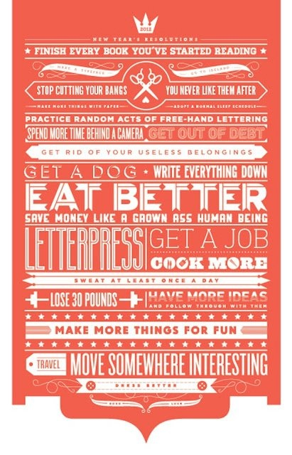 Eat better.   Cook more.  Have more ideas.   Make more thing for fun.