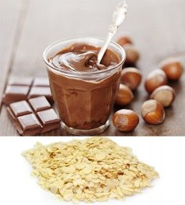 nutty nutella yonana! 2 frozen bananas 2 tbsp Nutella and topped with 2 tbsp slivered almonds