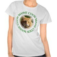 Maine Coon Cat T shirt Click to see more cat gift ideas: http://www