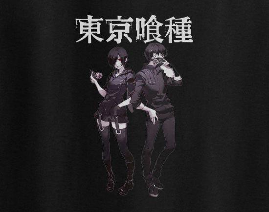 Tokyo Ghoul Posing Kanji T-Shirt