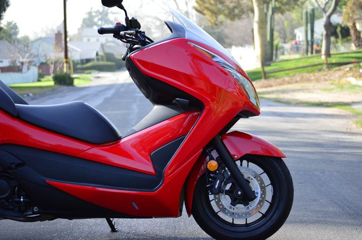 2015 Honda Scooter Forza Review