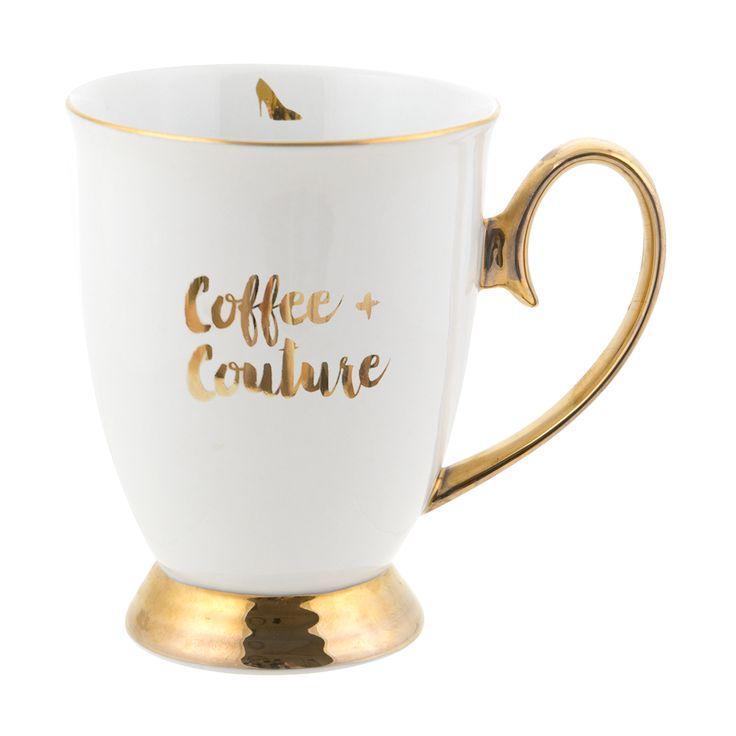 Coffee & Couture 'Words of Wisdom' Mug