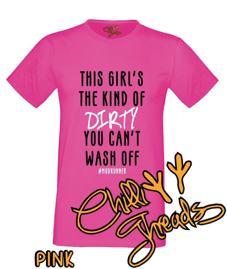 This girls the kind of dirty, race for life T-Shirt only £9.49 and in 18 colour options on www.chillithreads.com, eBay and easy! #raceforlife #cancer #cancerresearch