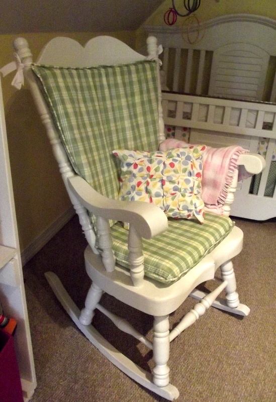 Rocking chair cushions on pinterest chair cushion covers chair