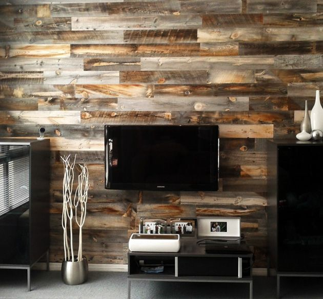 Stikwood Peel And Stick Wood Décor
