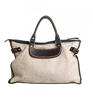 Galliota Canvas and Leather Bag