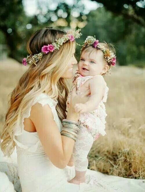 Hermosa Imagen Madre E Hija Ideas Para Fotografía Pinterest