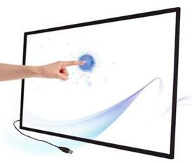 """3PCS 60"""" Infrared IR multi touch screen overlay for touch kiosk, ir touch screen kit with dual touch"""