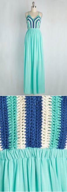 Вязание Крючком, Девочка, Эй! Платье | Мода Ретро Старинные Платья…