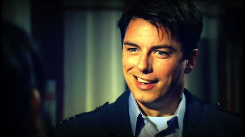 John Barrowman as Captain Jack Harkness (Dr. Who and Torchwood)
