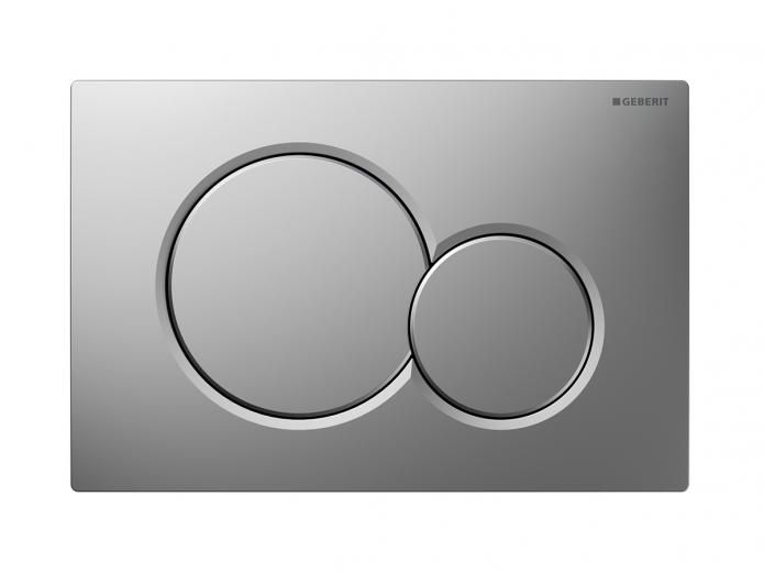 Geberit Sigma Access Button Satin Chrome, also available in bright chrome. Reece $160 gst inc