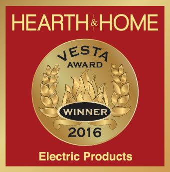 #Revillusionbydimplex wins 2016 Vesta Award for Best Electric Product at HPBExpo. Learn more about our award winning new products at www.dimplex.com