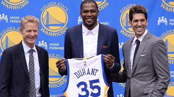 Watch Video: Kevin Durant Explains Why He Joined Warriors - http://www.morningnewsusa.com/watch-video-kevin-durant-warriors-2388466.html