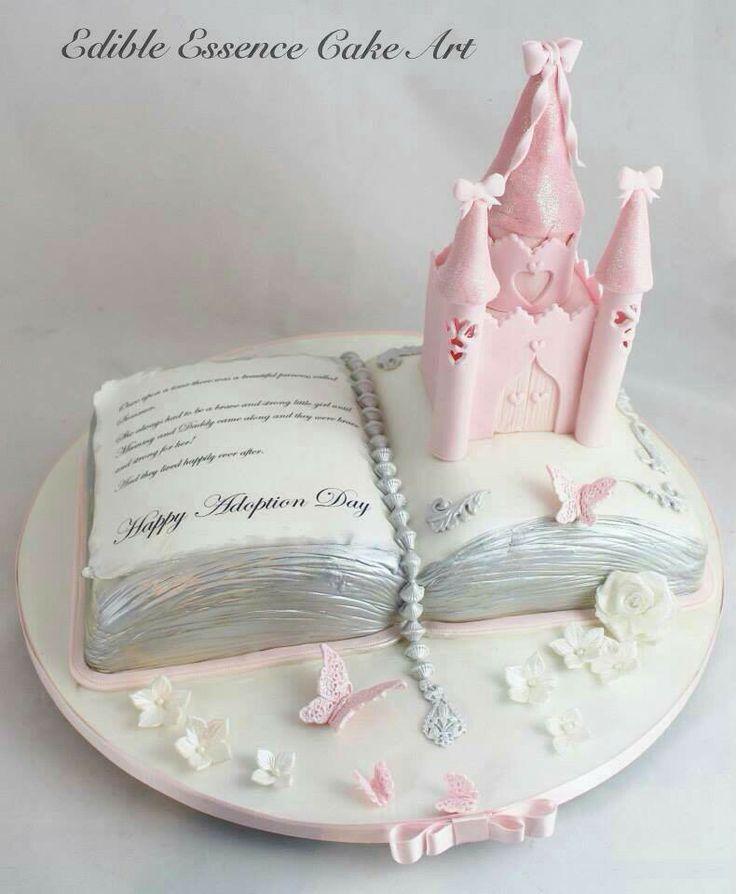 Super cute adoption cake