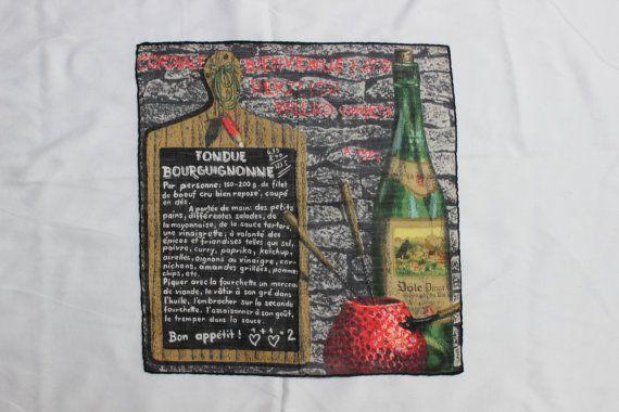 Taschentuch Fondue Bourguignonne Rezept Stoffels von Plantdreaming