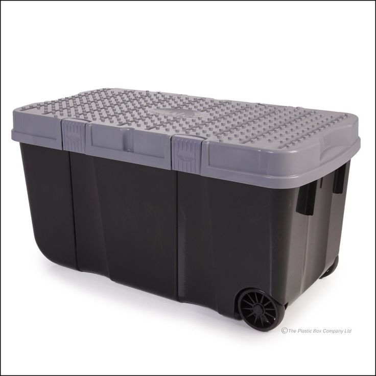 Large Plastic Storage Containers with Wheels