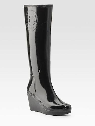 Demi Bootsocks, Bottes de pluie femmes - Gris (Gris Clair), 38 EUBe Only