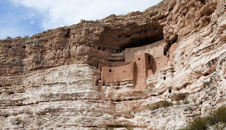 Montezuma Castle National Monument in Arizona
