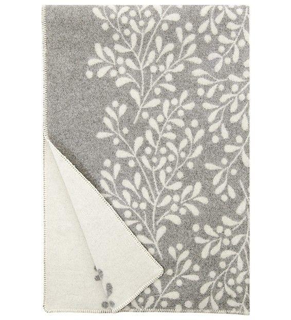 MISTELI, wool blanket by Finnish interior company Lapuan Kankurit. Web shop.