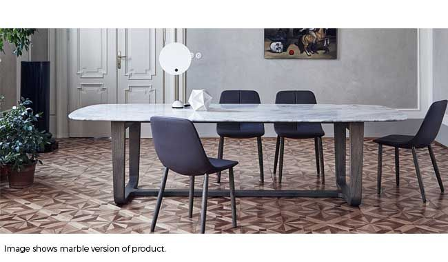 Bonaldo Medley Glass Dining Table In 2020 Glass Dining Table
