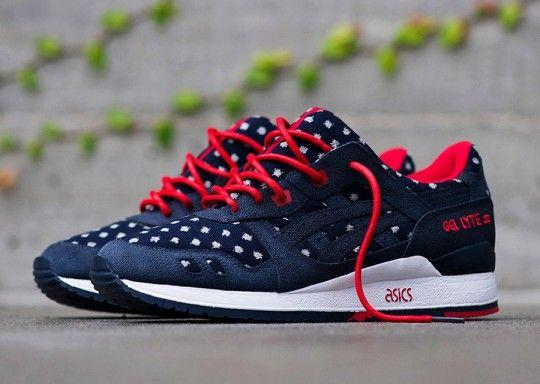 sneakers asics gel lyte iii lc bordeaux