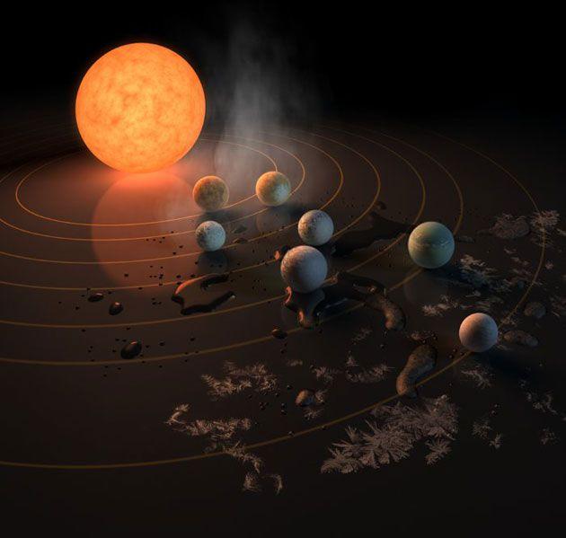 Marvelous So soll nach Leben auf den Planeten um TRAPPIST gesucht werden