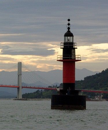 Lighthouses of South Korea: Sacheon and Namhae Area, Baman