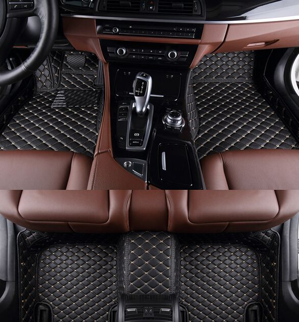 Best quality & Free shipping! Custom special floor mats for Mazda 3 Sedan 2013-2009 non-slip waterproof carpets for Mazda 3 2011