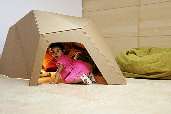 noch eine tolle papph hle h hle bauen pinterest h hle jungen geburtstag und f r kinder. Black Bedroom Furniture Sets. Home Design Ideas