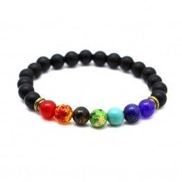 Joyme Black Lava Healing Beads Bracelet