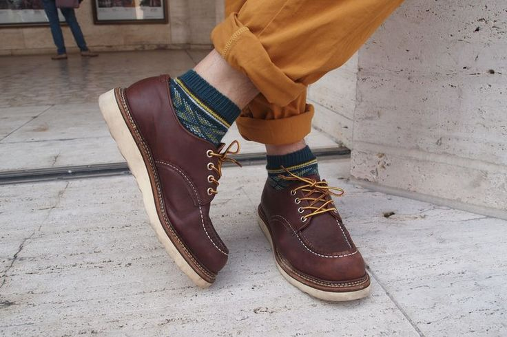 Red Wing Shoes Oxford 8109 Red Wing Model Pinterest