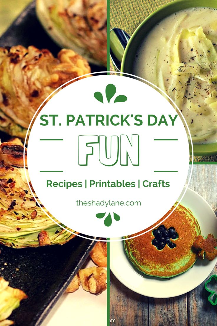 Add a little Irish luck to your weekend with these fun St. Patrick's Day recipes, crafts and activities!