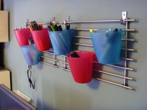 grid wall organizer ikea components  combine with hooks