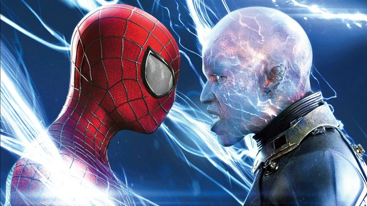 [Next Generation Wallpaper] - Spiderman & Electro Max Dillon_(Movie)-1366x768