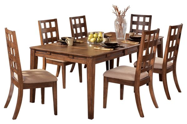 ashley dining room table and chairs clifton park from furniture talbe is 40 quot x 70 88 quot d 8486