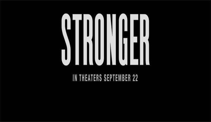 Stronger - Official Trailer, starring, Jake Gyllenhaal, Tatiana Maslany, Miranda Richardson, Clancy Brown and Frankie Shaw. #stronger #strongermovie #strongertrailer