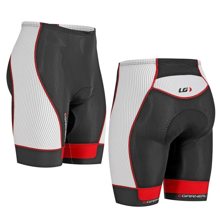 "Louis Garneau Men's Pro Tri Short 8"".  Also available in Black, White & Charcoal"