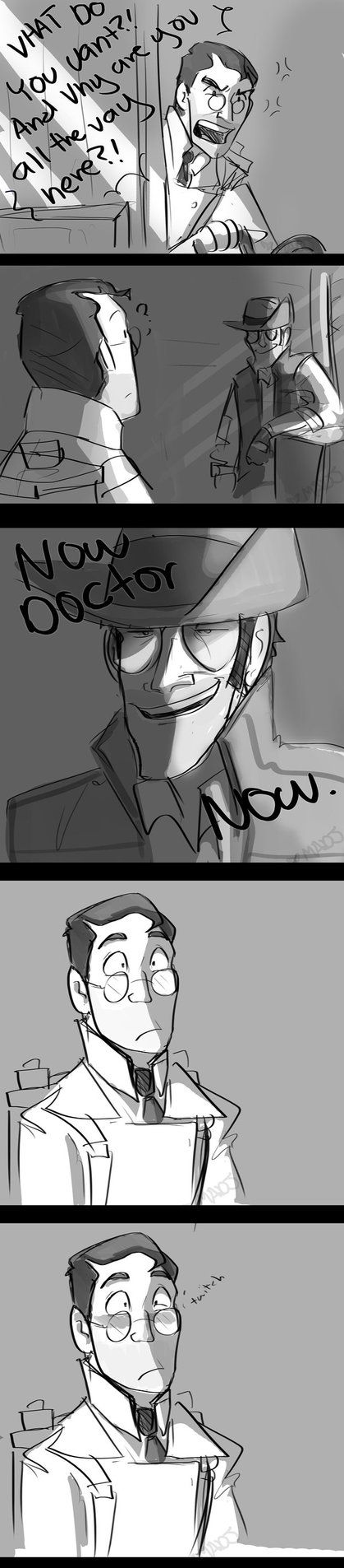 TF2-Now Doctor NOW by MadJesters1 (oh my god) Uber sniper is best uber
