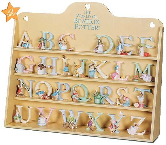 Beatrix Potter Alphabet Letters World Peter Rabbit Pinterest Nursery And